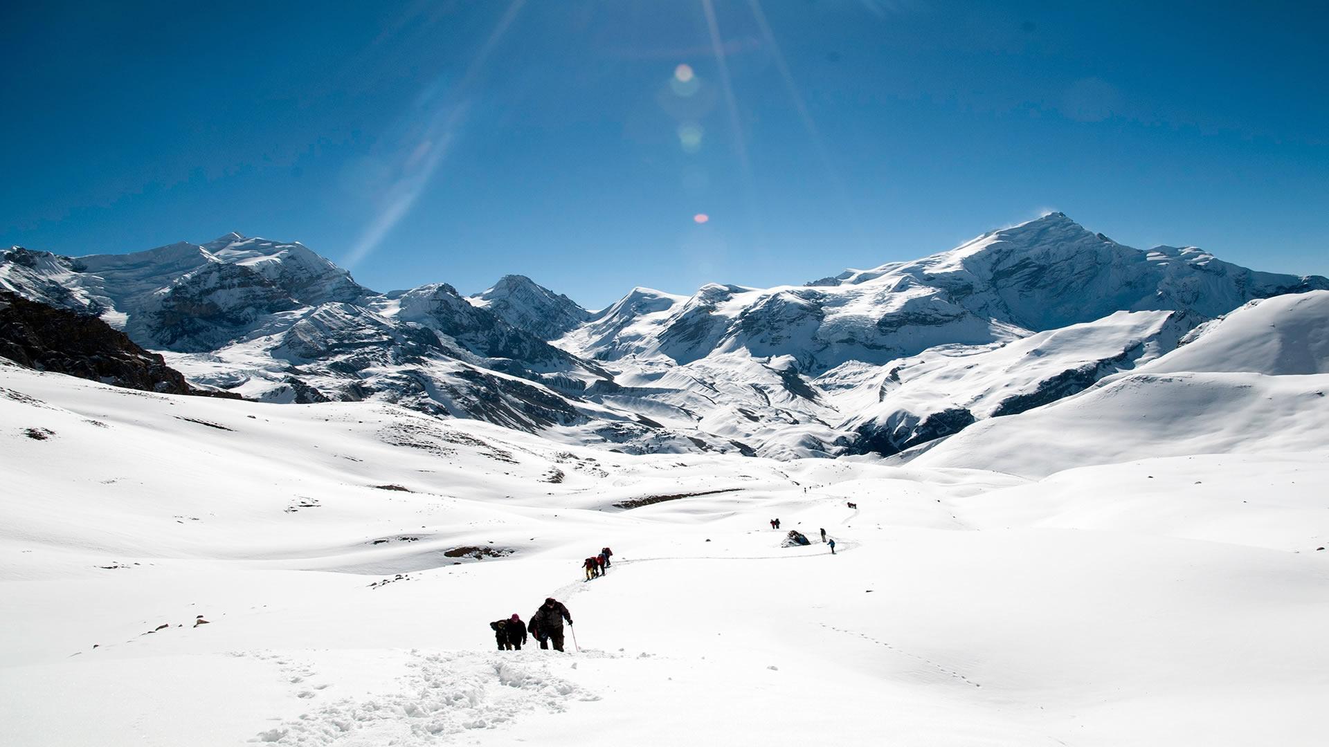 skiing in pakistan