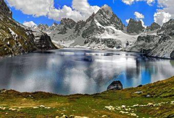 Chitta Kathha (white stream) Lake Shounter Valley Azad Kashmir