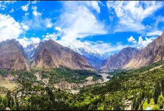 hunza valley , jasmine tours , northern areas in Pakistan